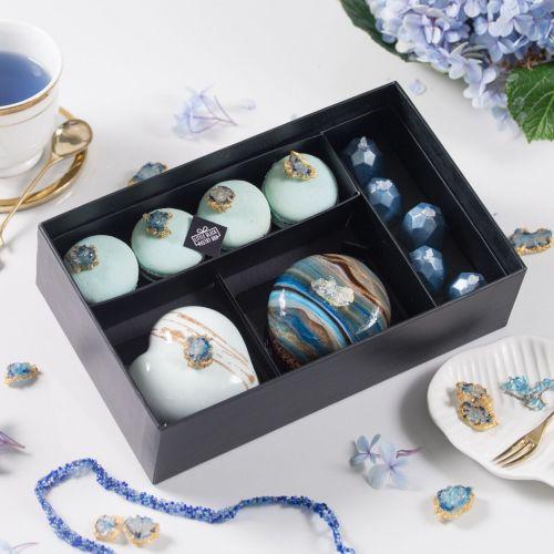 The Mystical Sapphire Dessert Box
