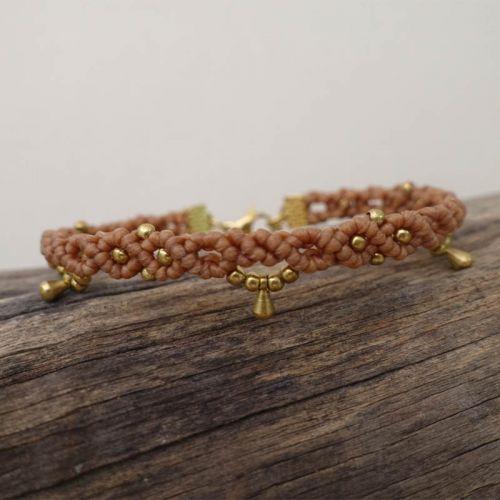 Macrame Dangle Bracelet 【BC01】