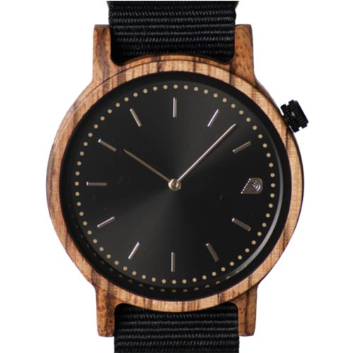 PRIME Collection Men's 42mm Wooden Watch