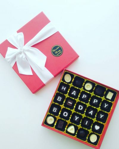 Personalized Wishes Chocolate Gift (Signature Box)