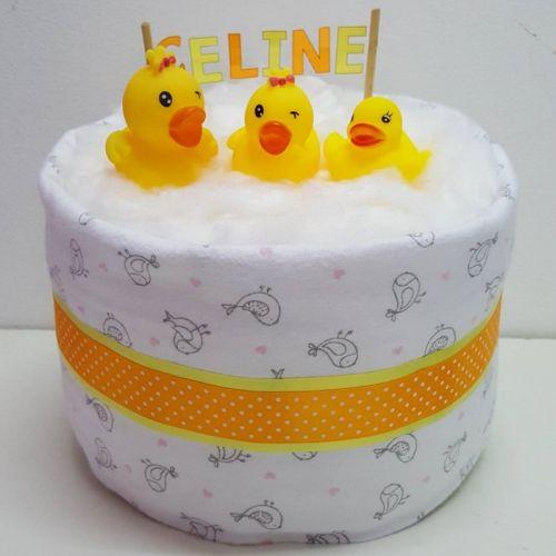 Diaper Duck Cake