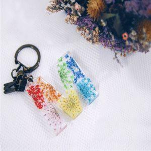 Handcrafted Flower Keychain