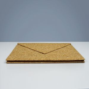 EcoQuote Envelope Folder Handmade Eco Friendly Cork Material Great For Vegan, Environment Concious Friendly