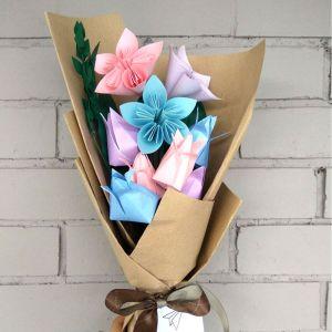 Paper Flowers Delicate Bouquet