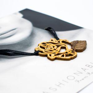 Wooden Jewelry Pendant