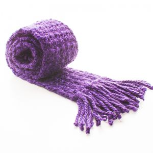 Hand-knitted Designer Scarf