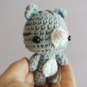 Evie the Kitten Amigurumi