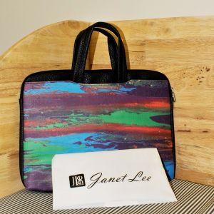 Art Inspired Designer Document Bag (Reflection)