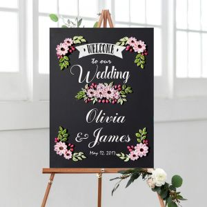 Wedding Chalkboard Series : Pinky Carnation