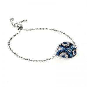 Luna Pave Adjustable Chain Bracelet